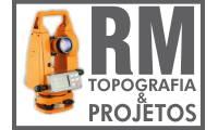 Logo de Rm - Topografia & Projetos em Residencial Alice Barbosa