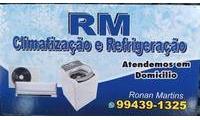 Logo RM Refrigeração & Ar condicionado