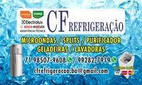 Logo de CF REFRIGERAÇÃO ASSISTÊNCIA TÉCNICA ESPECIALIZADA