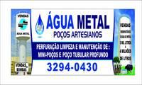 Logo de Água Metal Poços Artesianos em Setor Campinas