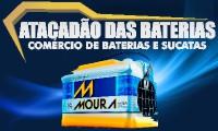 Logo de ATACADÃO DAS BATERIAS 24 HORAS - Realizando Delivery durante a COVID-19