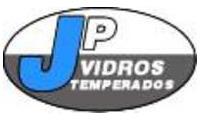 Logo de JP Vidros Temperados em Umbará