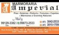Logo de Marmoraria Imperial em Mata do Jacinto