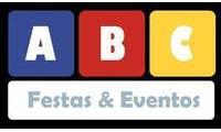 Logo ABC Festas e Eventos Aluguel de Brinquedos infantis e adultos