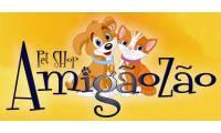 Logo de Pet Shop Amigãozão
