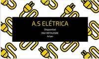 Logo AS Elétrica