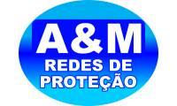 Logo A&M.Redes de Proteão em Residencial Primavera