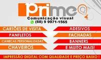 Logo de Prime Publicidade, Desenvolvimento E Gráfica Rápida em Rosa Linda