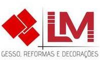 Logo de LM Gesso Decorações & Reformas em Santa Etelvina