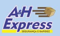 Logo de A&H Express em Plano Diretor Norte