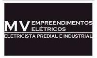 Logo de MV Empreedimentos Elétricos em Conjunto Riviera