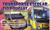 Logo Transporte Escolar Tio Douglas C Silveira em Santa Felicidade