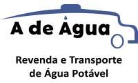 Logo de A de Água - Transporte de Água em Caminhão Pipa