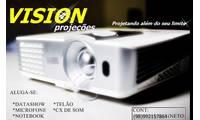 Logo de Vision Projeções