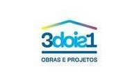 Logo de 3dois1 Obras e Projetos em Setor Oeste
