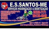 Logo de ES Santos Serviços Higienização e Dedetização