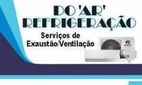 """Logo de Do """" Ar """" Refrigeração - Serviços para Ar Condicionado"""