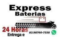 Logo de Express Baterias 24 Horas em José Américo de Almeida