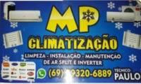 Logo MP Climatização em Mariana