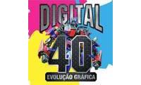 Logo Digital 40 Evolução Gráfica em São Cristóvão