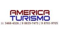 Logo de América Turismo em Centro
