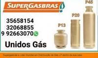 Logo de Unidos Gás - Entrega de gás de cozinha