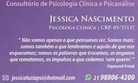 Logo de Psicóloga Clínica e Psicanalista Jessica Nascimento em Copacabana em Copacabana