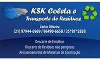 Logo Ksk Coleta E Transporte de Resíduos Ltda  em Prata