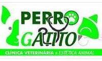 Logo de Perro Y Gatito em Floresta