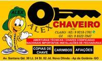 Logo Alex Chaveiro E Carimbos em Nova Olinda
