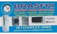 Logo Brasfri Refrigeração