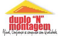"""Logo de Duplo """"N"""" Montagem"""