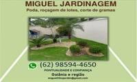 Logo de Miguel Jardinagem e Roçagem em Residencial Nossa Senhora Auxiliadora