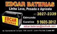 Logo de Edcar Baterias em Jardim Paulista
