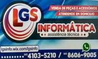 Logo de Lgs informática celulares Cartuchos E Toners em Arapoanga (Planaltina)