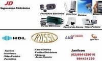 Logo JD Segurança Eletrônica em Jardim América