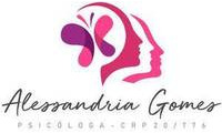"""Logo de Psicóloga Alessandria Gomes """"Agora Online"""" em Cidade Nova"""