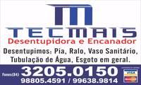Logo de Desentupidora Tecmais em Felipe Camarão
