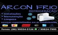 Logo ARCON FRIO REFRIGERAÇÃO em Aroeiras