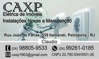 Logo CAXP Elétrica de Imóveis