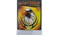 logo da empresa Studio Falcons Piercing Tattoo