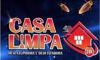 Logo Casa Limpa - Dedetizadora e Desentupidora 24 Horas