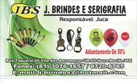 Logo de J. Brindes e Serigrafia