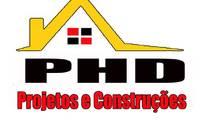 Logo de Phd Projetos E Construçoes em Barra de Jangada