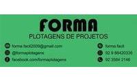 Logo Forma Plotagens de Projetos e Imagens