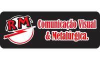 Logo de RM Comunicação Visual e Metalúrgica em Coroado