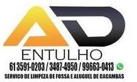Logo de AD Entulho e Disk Caçamba