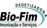 Logo Dedetizadora BIOFIM Imunização e Serviços Emergência