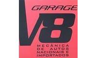 Logo Garage V8 Oficina Mecânica em Mooca