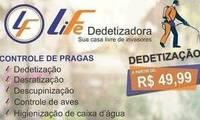 Logo LiFe Dedetizadora e Desentupidora em Cidade Vera Cruz